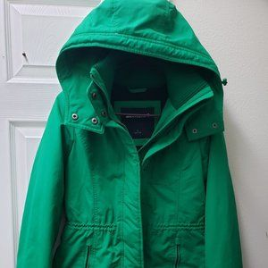 Abercrombie Womens Hood Puffer Lined Jaclet small